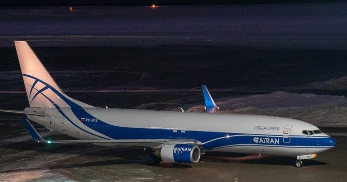 VOLGA-DNEPR GROUP TAKES DELIVERY OF ITS FIRST BOEING 737-800.