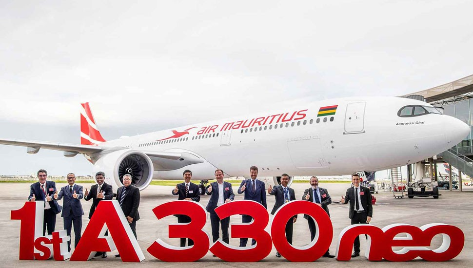 Air Mauritius takes delivery of first A330neo