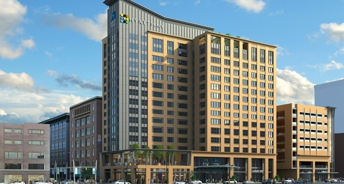DUAL-BRANDED HYATT PLACE AND HYATT HOUSE INDIANAPOLIS CELEBRATES OFFICIAL OPENING