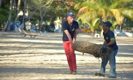 MITUR reinforces cleaning of beaches for Easter