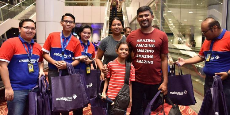 MALAYSIA AIRLINES INAUGURAL FLIGHT TO KOCHI TAKES OFF
