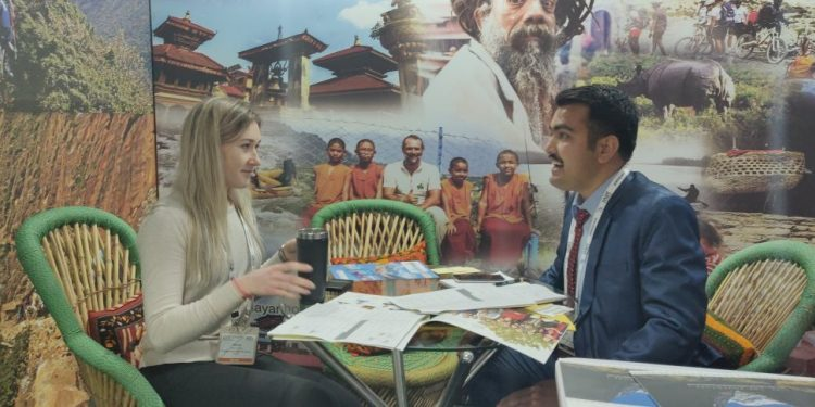 NEPAL PROMOTED ITS ADVENTURE AND SPIRITUAL OFFERINGS AT PATA ATRTCM 2019 IN RISHIKESH, INDIA