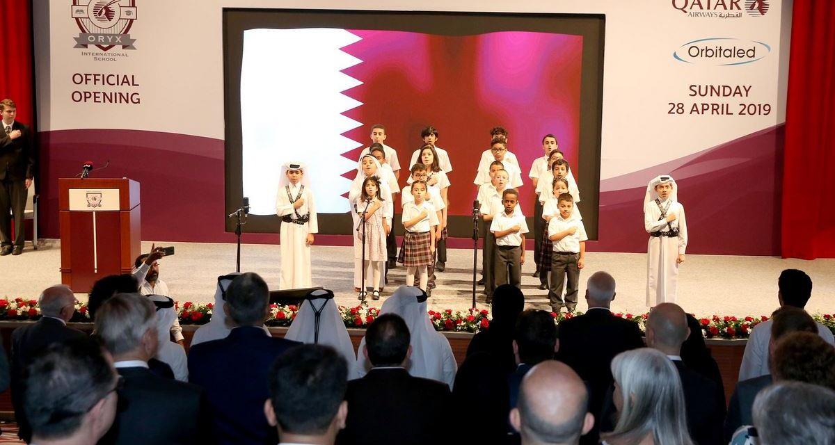 Qatar Airways and Orbital Education Celebrate the Official Opening of Oryx International School Campus at Mesaimeer