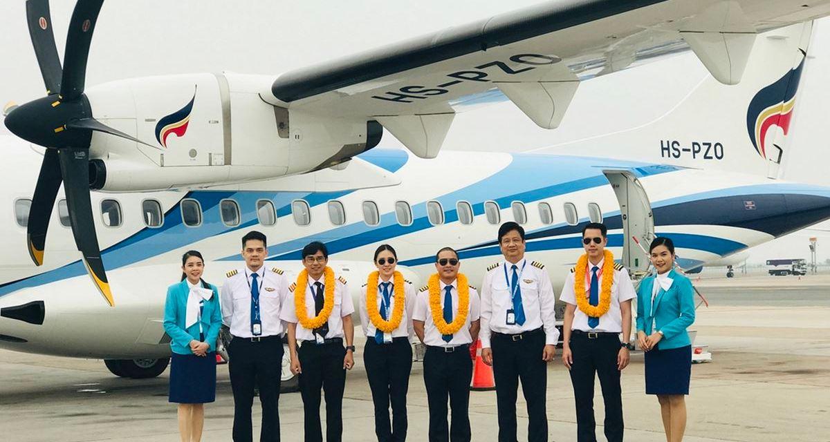 Bangkok Airways welcomes its latest ATR 72-600 Aircraft