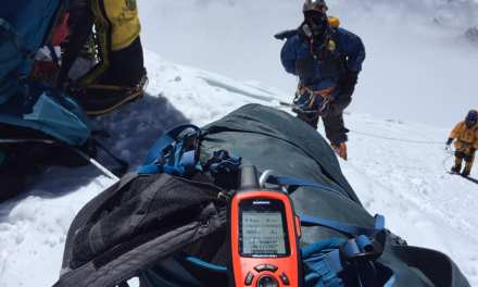 Government surveyors scaled Everest to collect data
