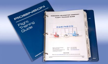 Robinson Introduces a New Flight Training Guide