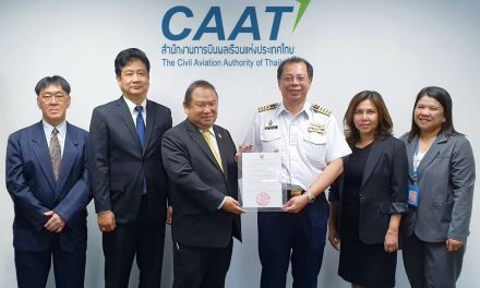 Bangkok Airways receives the 10-Year Air Operating Licence ( AOL ) from CAAT