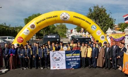Bhutan-Thailand Friendship Drive : TAT