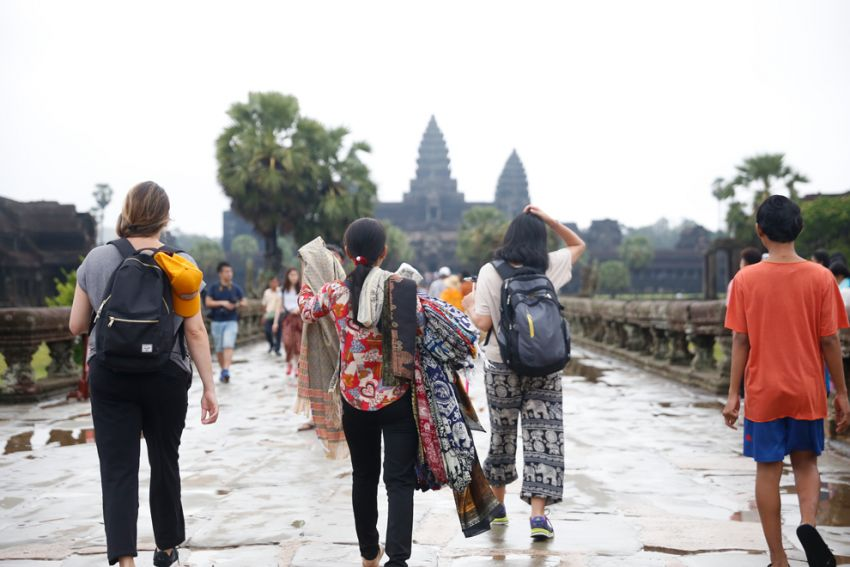 Angkor park receives more than $50M in ticket sales