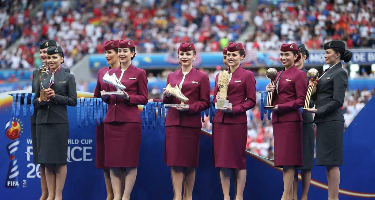 Qatar Airways Congratulates Team USA as the Winner of the FIFA Women's World Cup