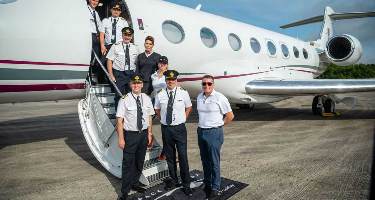 Qatar Executive Breaks the World Circumnavigation Speed Record on Gulfstream G650ER*