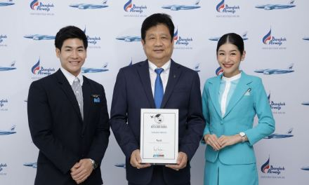 Bangkok Airways wins 2019 Smart Travel Asia Awards as Top 10 Best Cabin Service Worldwide in 2019