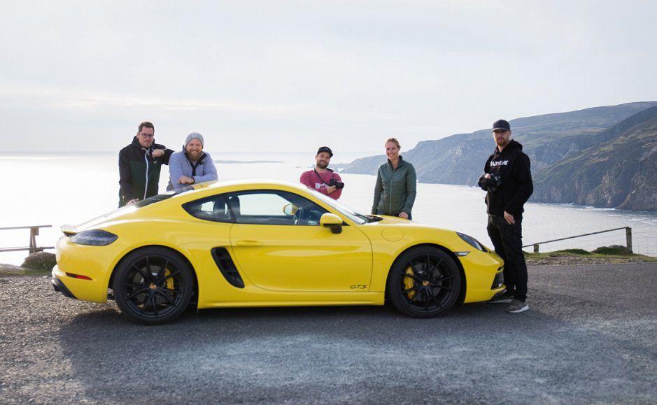 Tourism Ireland unveils new promotion with Porsche
