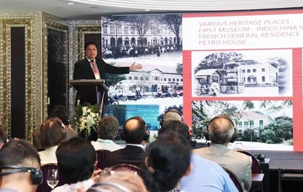 Workshop to preserve cultural heritages during development : Vietnam