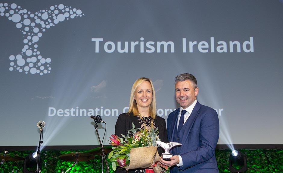 Tourism Ireland voted 'Best Destination'