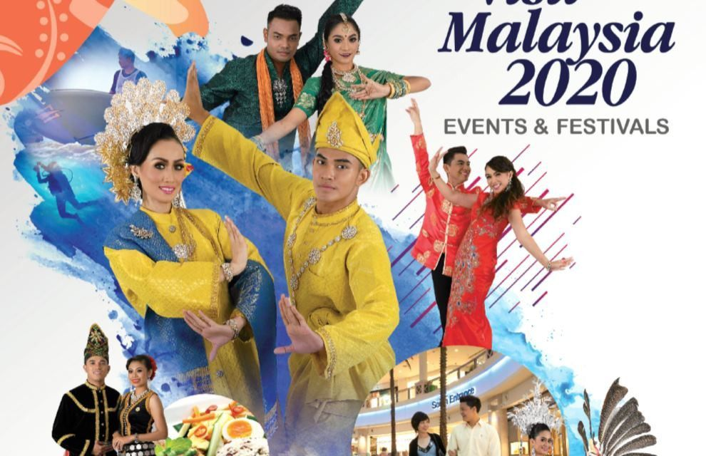 VISIT MALAYSIA 2020 EVENTS AND FESTIVALS IS NOW ONLINE