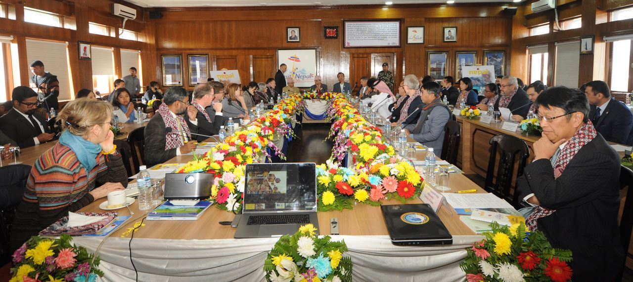 Tourism minister seeks ambassadors' support to make Visit Nepal campaign successful