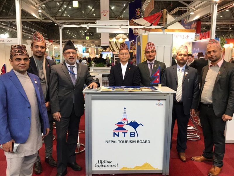 Nepal promoted as a destination of Lifetime Experiences in Vienna