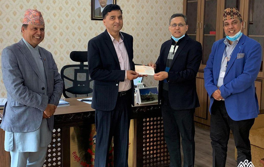 Himalaya Airlines contributes 10 Million to Government COVID–19 Fund