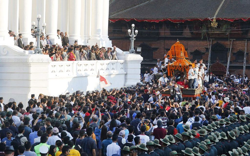 Indrajatra : A day when chariots dance in Kathmandu
