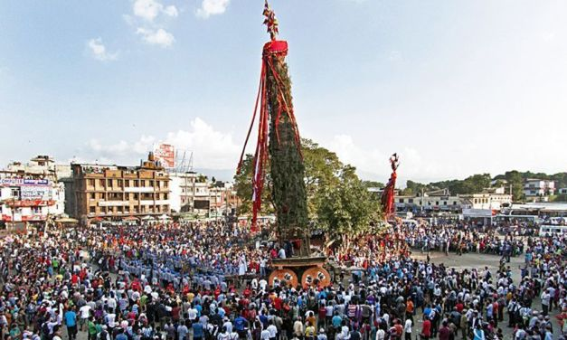 Rato Machhindranath or Bungdyah celebration