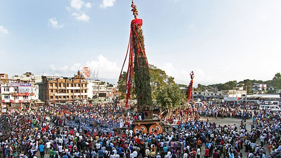 Rato Machhindranath or Bungdyah celebration