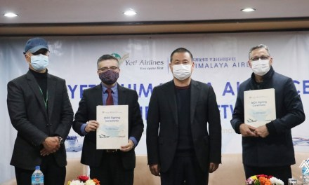 Himalaya Airlines & Yeti Airlines join hands for network integration