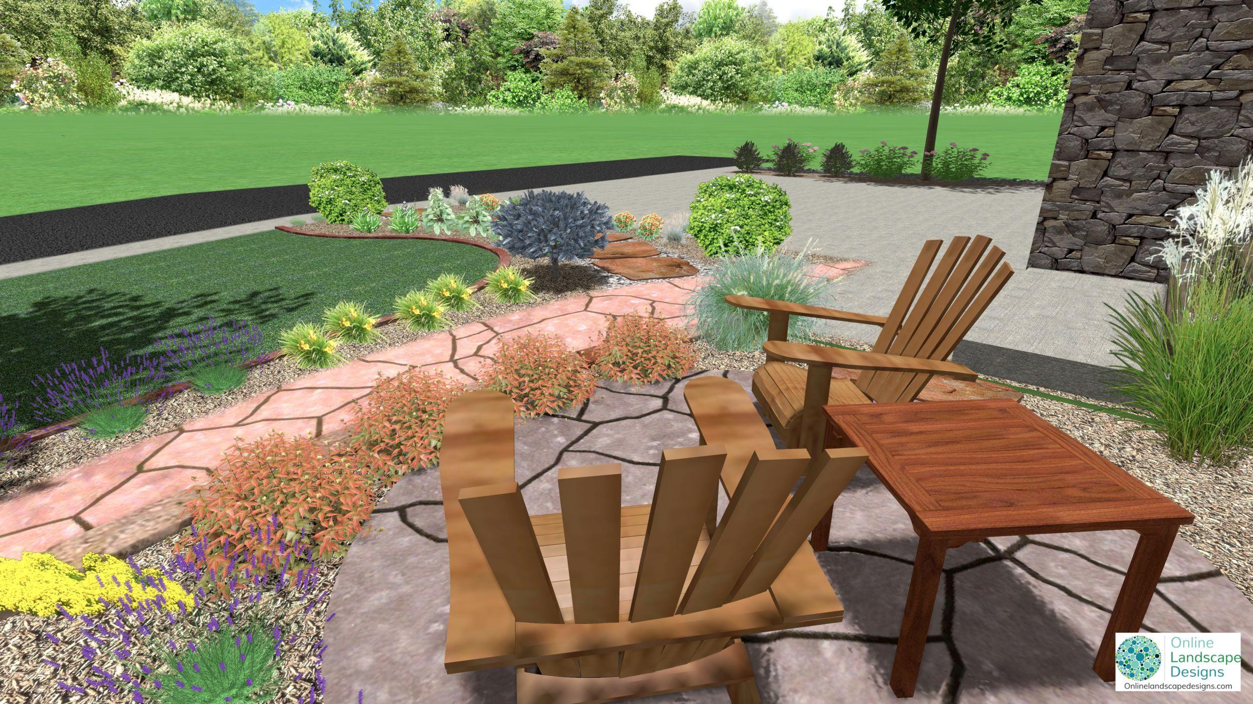 online landscape designs 2d and 3d