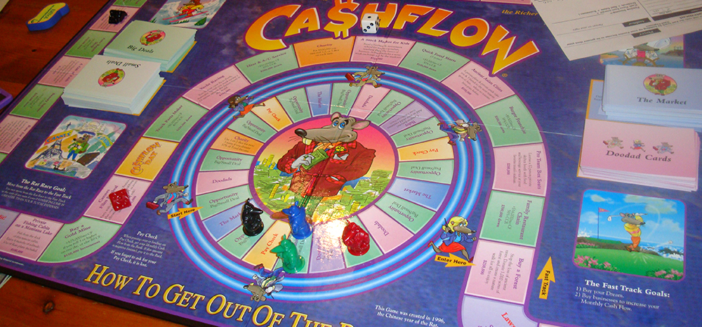 Cashflow 101 – the board game to make you rich