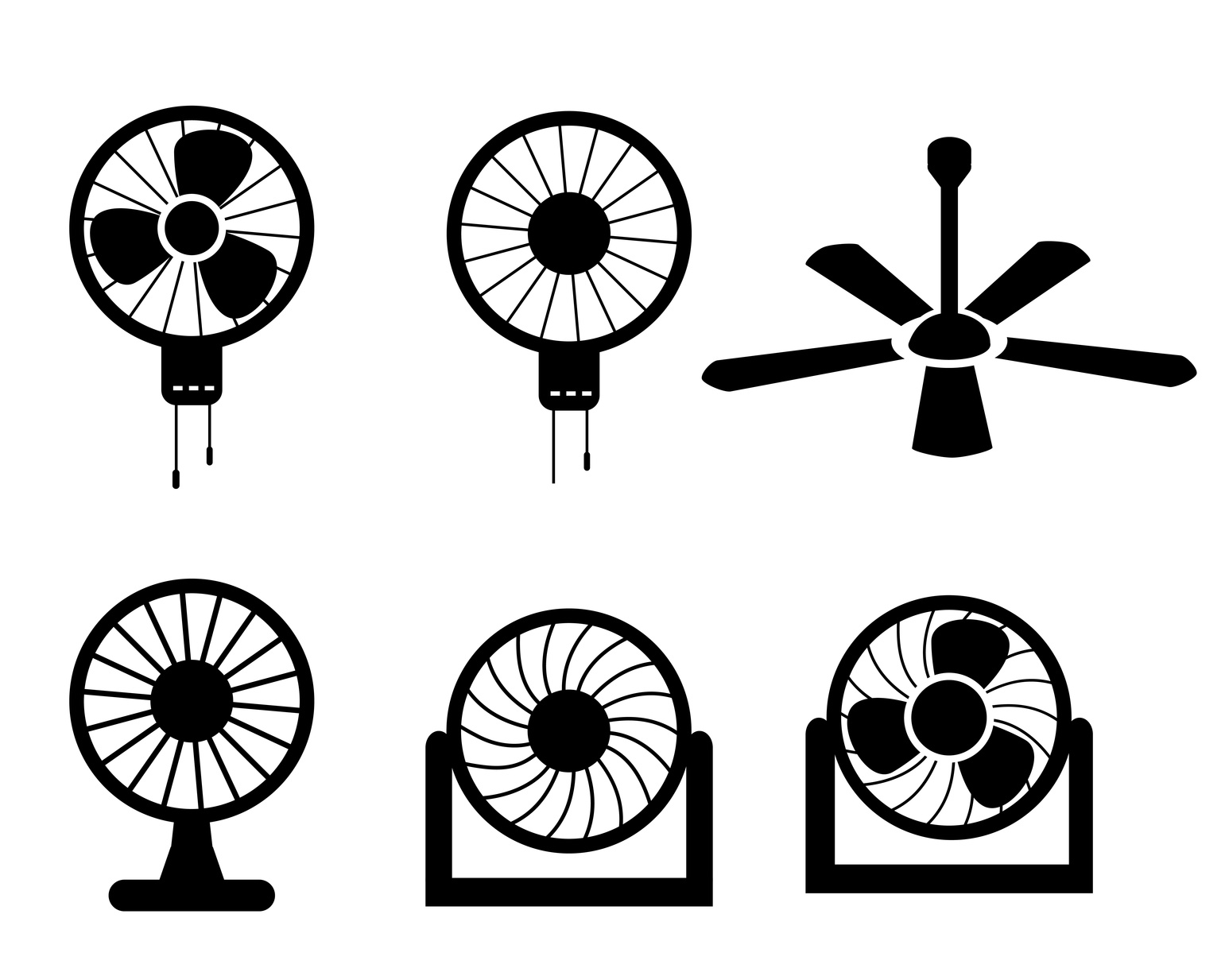 The Best Ceiling Fan Logos Are Cool. Is Yours? • Online