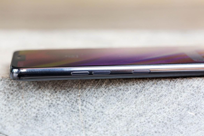 LG G7 ThinQ, Aluminium Side, Side, Aluminium, LG, G7