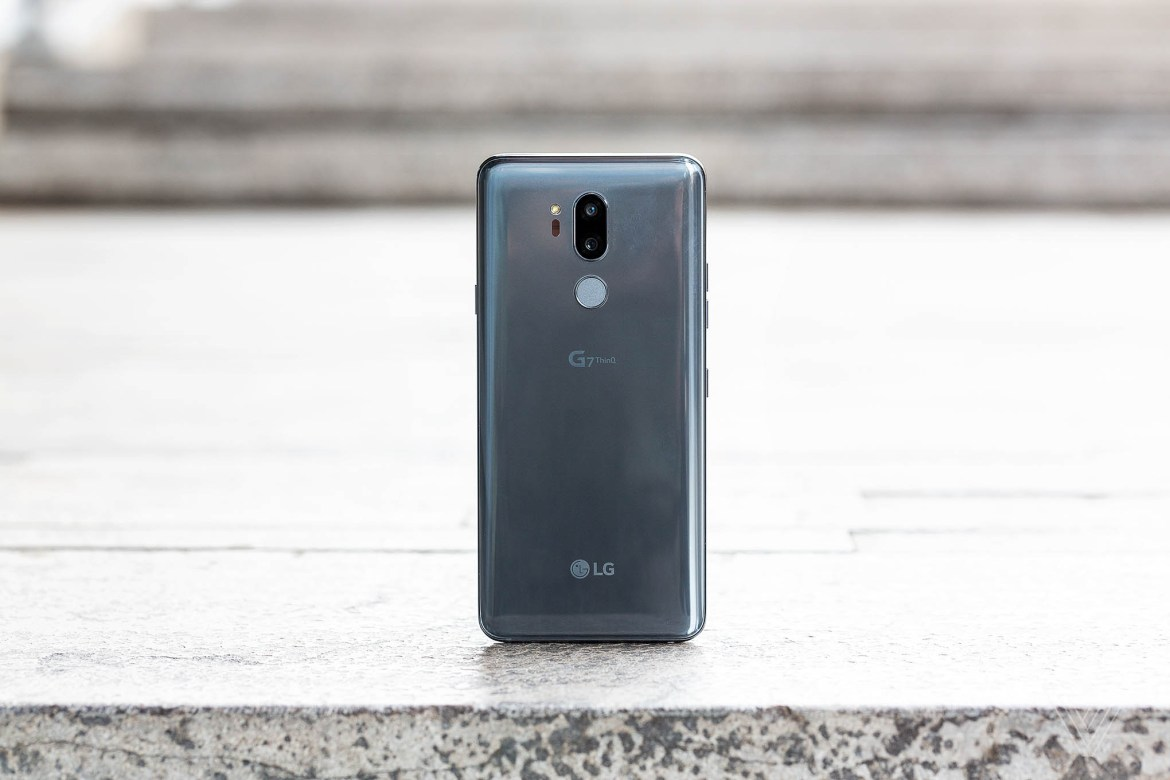 LG G7 ThinQ, Glass Back, Back, Glass, LG, G7