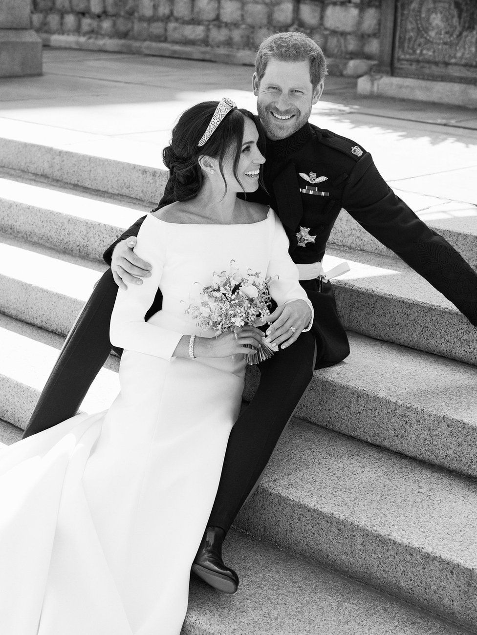 The Duke and Duchess of Sussex official photos.