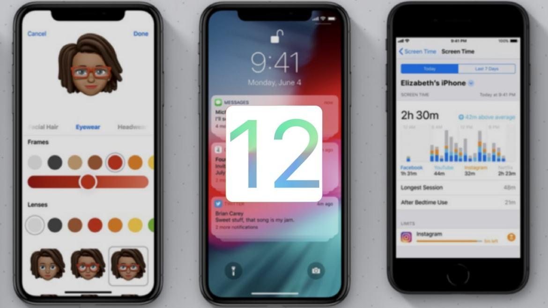 Apple has finally introduced the new iOS 12