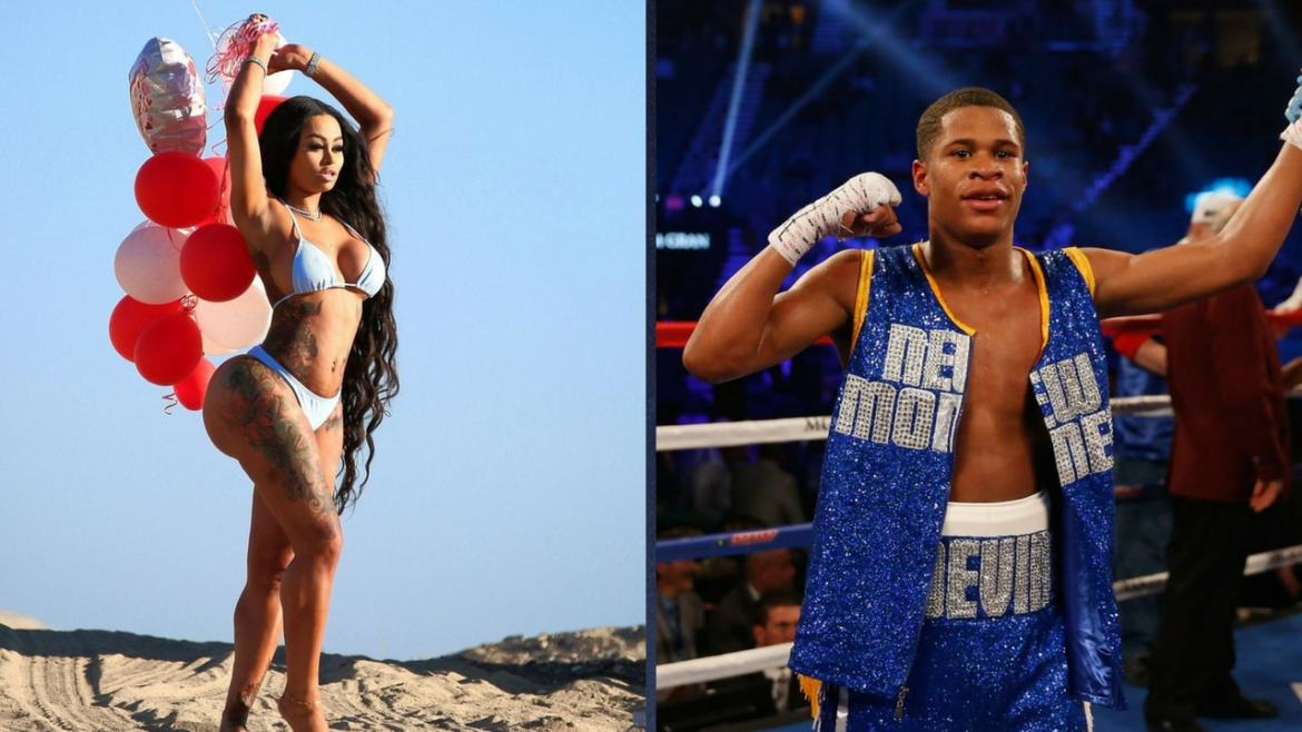 Blac Chyna had another teenage, 19-years-old boxer, named Devin Haney who shares the same lawyer as her.