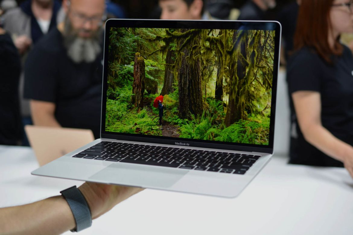 Apple introduced the new MacBook Air 2018.