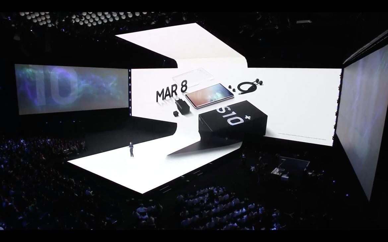 Samsung Galaxy S10 box