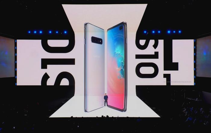 Samsung Galaxy S10 Plus, Galaxy Unpacked
