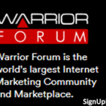 Warrior Forum Sign Up | www.warriorforum.com Account Setup