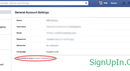 Logo - Facebook Account Delete
