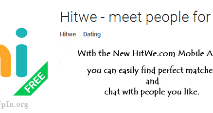 Logo: Download Hitwe.com Mobile App