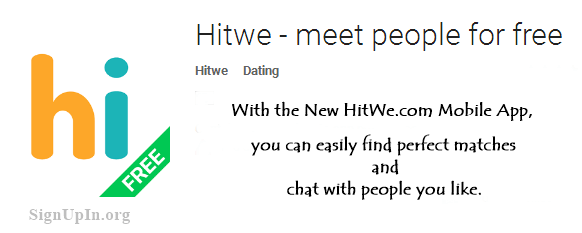 Download Hitwe.com Mobile App free
