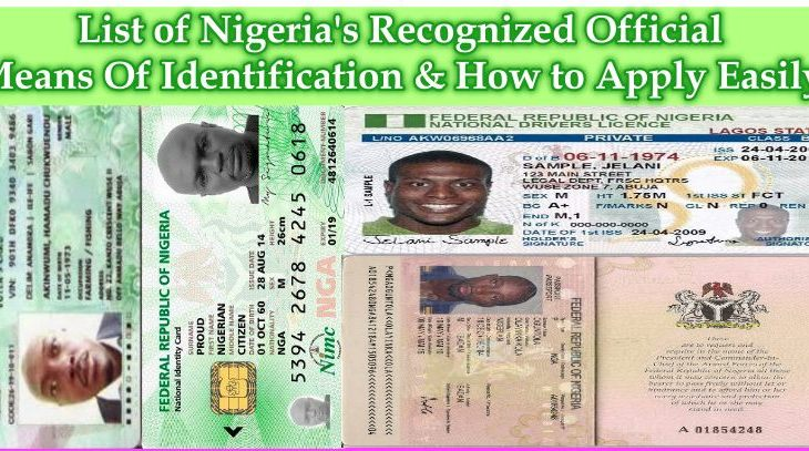 Nigeria's Means Of Identification