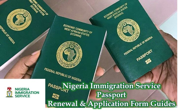 Nigeria Immigration Service Passport Renewal & Application Form Guides