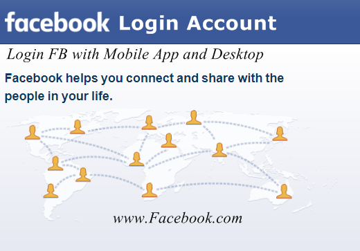 How to Login Facebook Account Using Mobile and Desktop