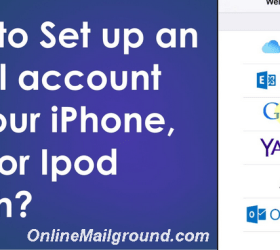 Set up an Email Account on Your iPhone, iPad, or iPod touch