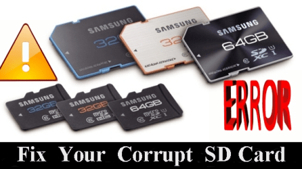 How to Fix Your Corrupt SD Card.