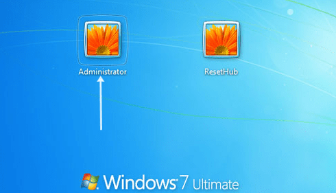 The Administrator's Home Screen