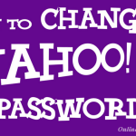 How to Change Yahoo Mail Password | Step-by-Step Guide