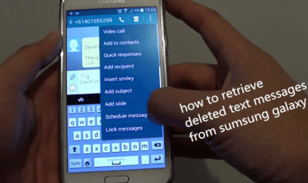 How to Recover Samsung Galaxy Lost Messages